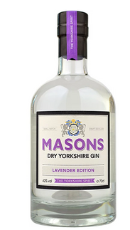 Masons Dry Yorkshire Gin – Lavender Edition - 42%abv.