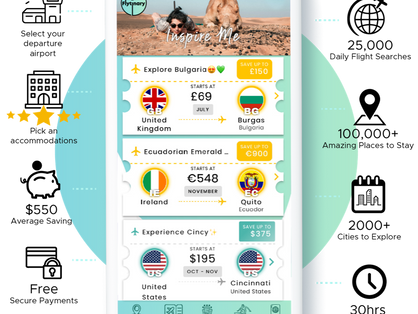 London Based Startup Launches Ground-Breaking, One-Stop-Shop Travel App