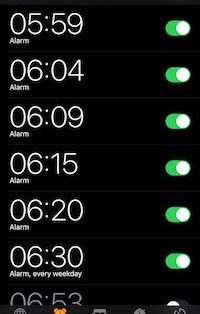When four alarms don't wake you up… try something more explosive!