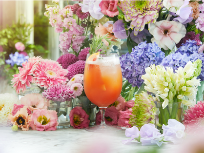 Celebrating a summer of love at The Ivy Soho Brasserie