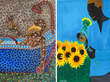 Afikaris gallery unveils figures of power, a joint exhibition of artists John Madu and Ousmane Niang