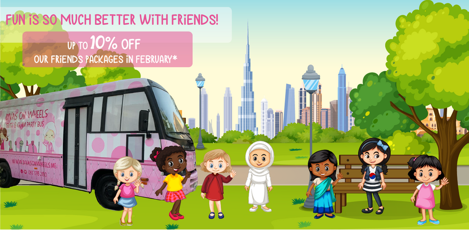 10% discount for parties with friends!