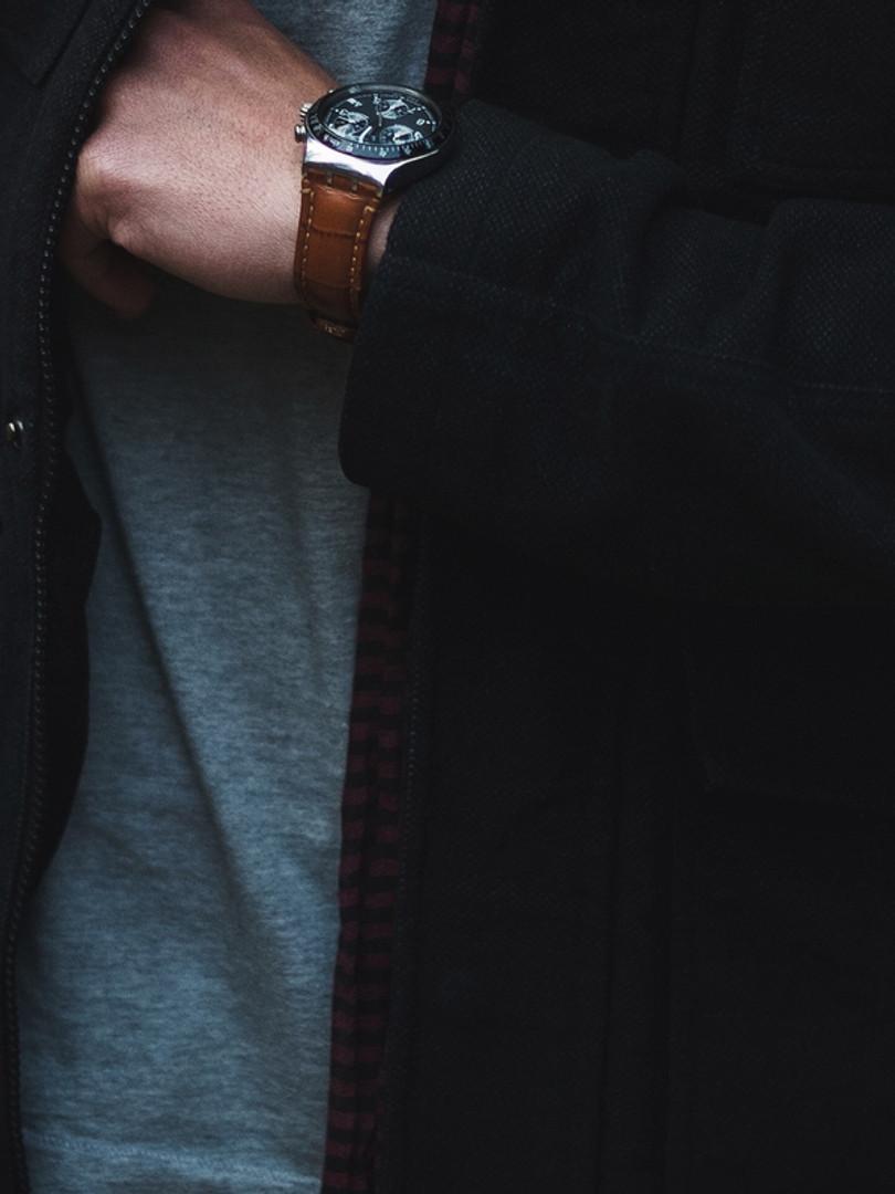El hombre relojes de moda