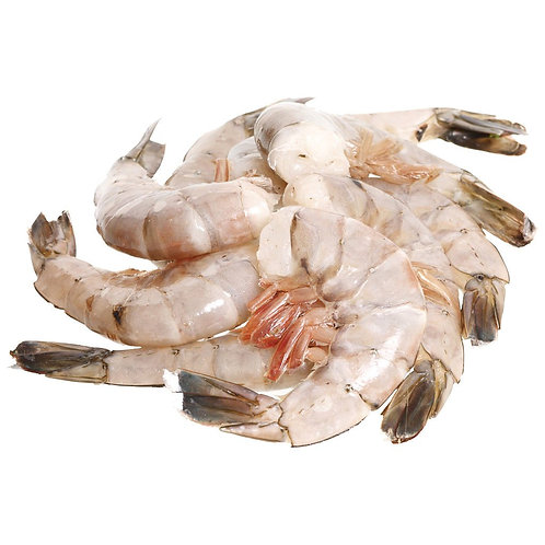 Prawns Shell on 31/40 Previously Frozen India