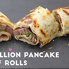 Scallion Pancake Beef Roll