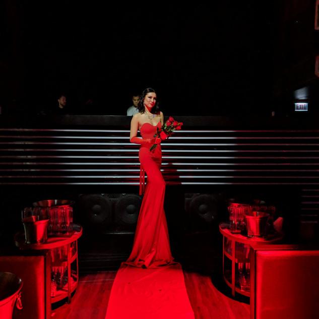 Red Carpet Lady