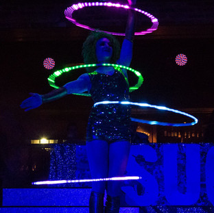 Light Up Circus Hula Hooper