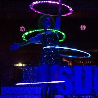 Light Up Circus Hula Hooper