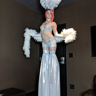 Stilt Walker Girl