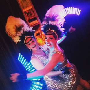 Light Up Showgirls