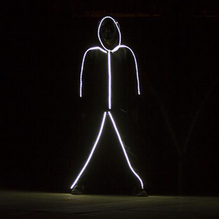 Light Up Stick Person