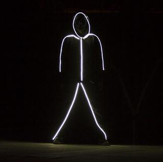 Light Up Stick Person