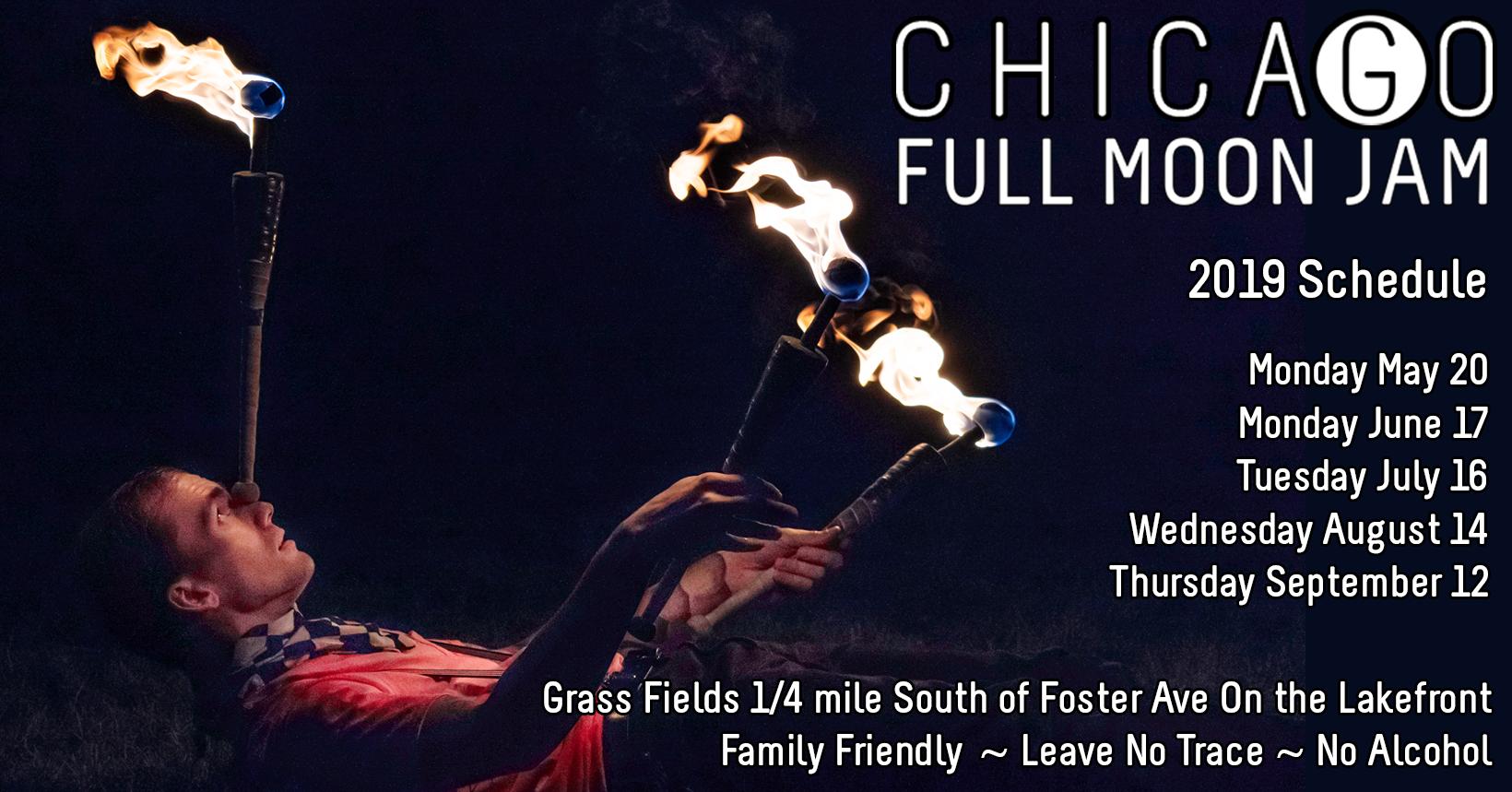 Chicago Full Moon Jam (July)