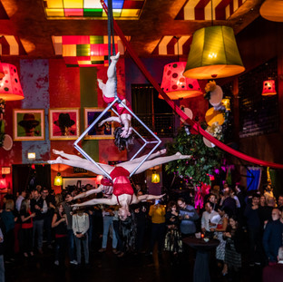 Aerial Cube Dancers