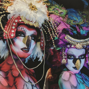 Body Painted Gods and Goddesses