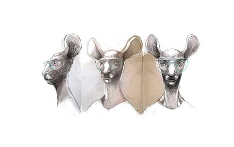 The Deer man character study