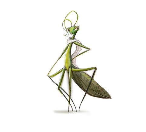 Locust Character Design