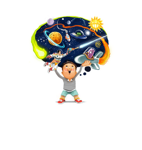 Children Illustration - Our kids