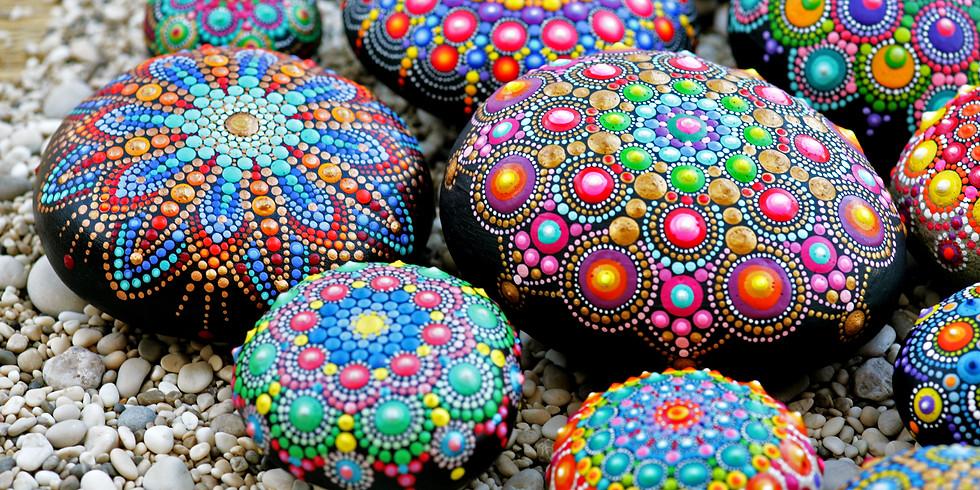 Mandala On Rocks