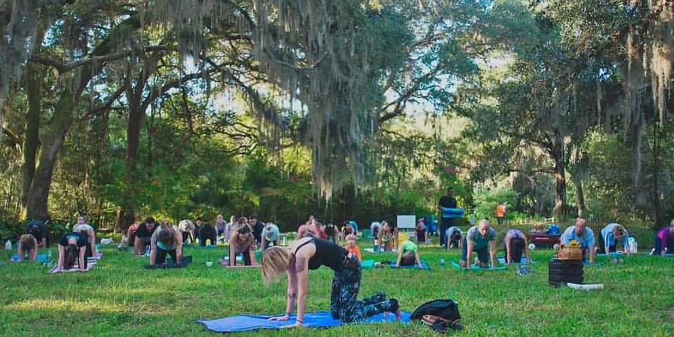 All levels Yoga in the Gardens