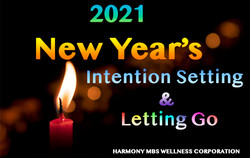 New Year Intention Letting Go