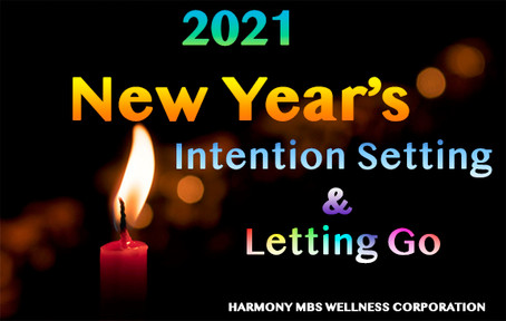 New Years Intentions & Letting Go