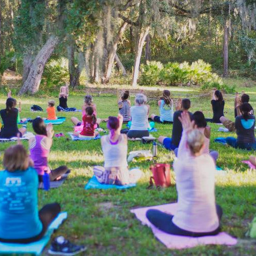 Mindful Yoga at the Gardens