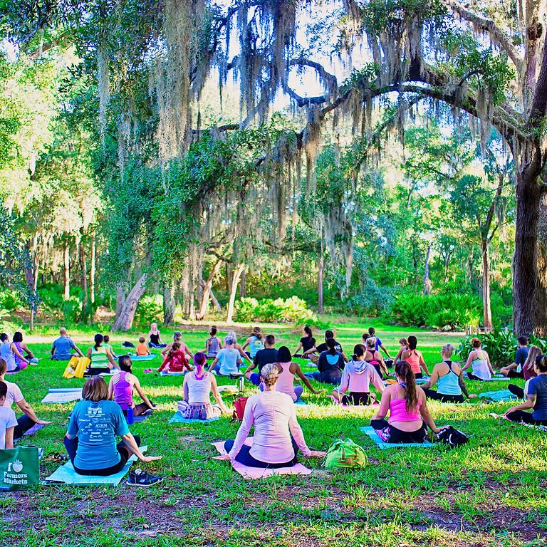 Yoga in Gardens