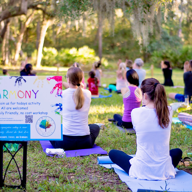 Mindful Yoga in the Gardens