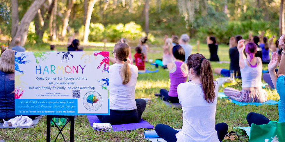 Mindful Flow Yoga in the Gardens