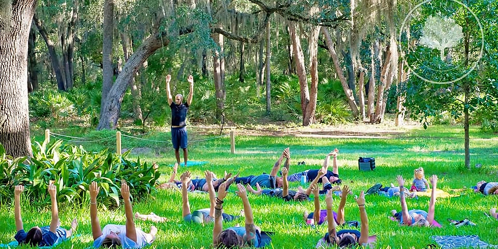 YOGA IN THE GARDENS all levels