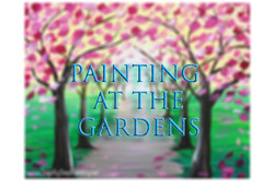 Painting in the Gardens
