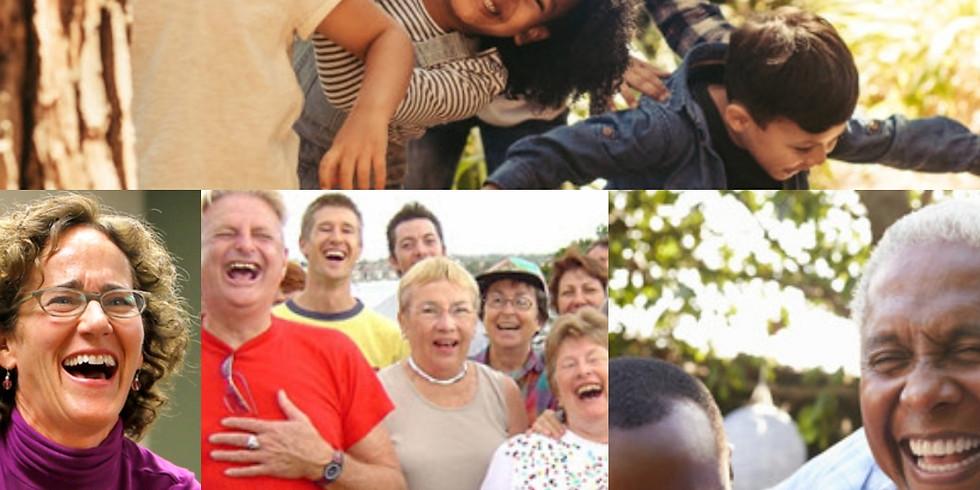 Laugh on Purpose-Laughter Yoga