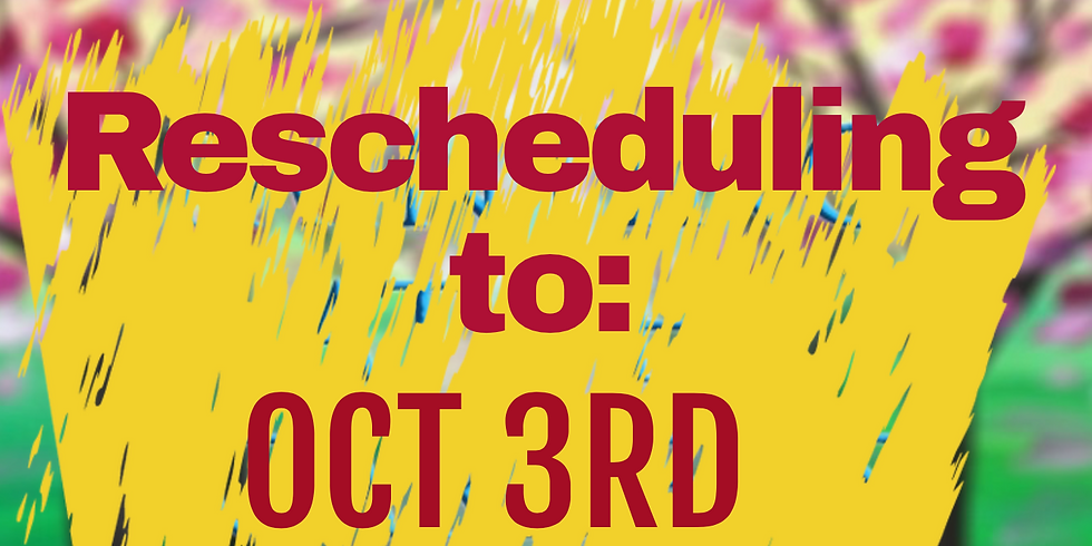 PAINTING A SPRING PATH IN THE GARDENS 9/19/20 Rescheduled**