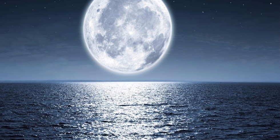 Moonlight @ the Beach Intention setting: Let Go & Regrow