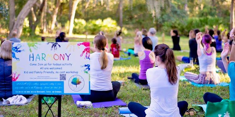 Yoga All-levels in the Gardens
