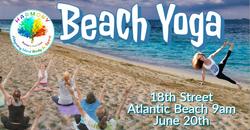 Beach Yoga Events