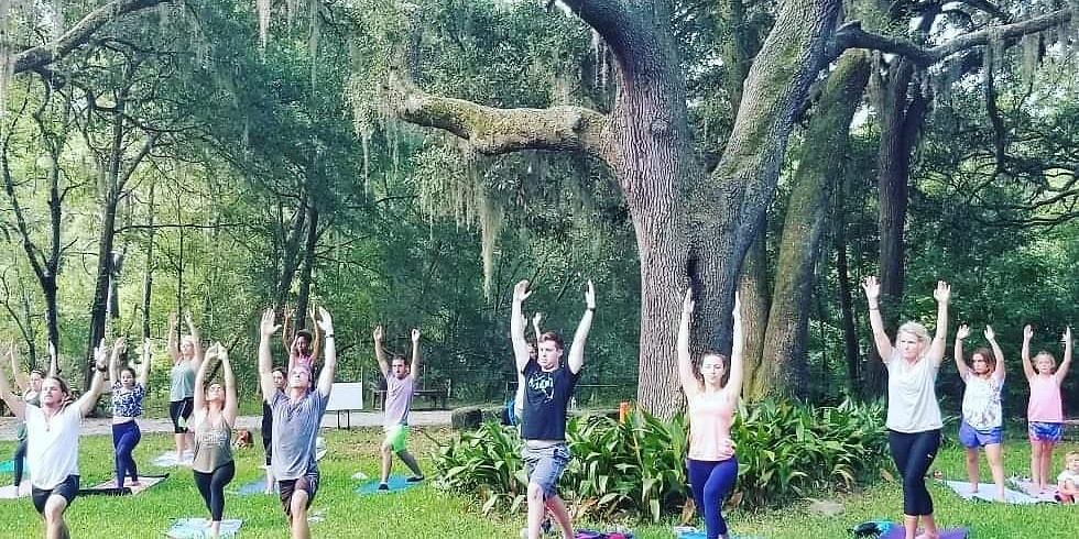 Yoga Flow in the Gardens (2)
