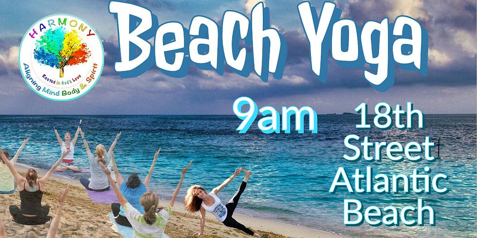 Yoga at the BEACH