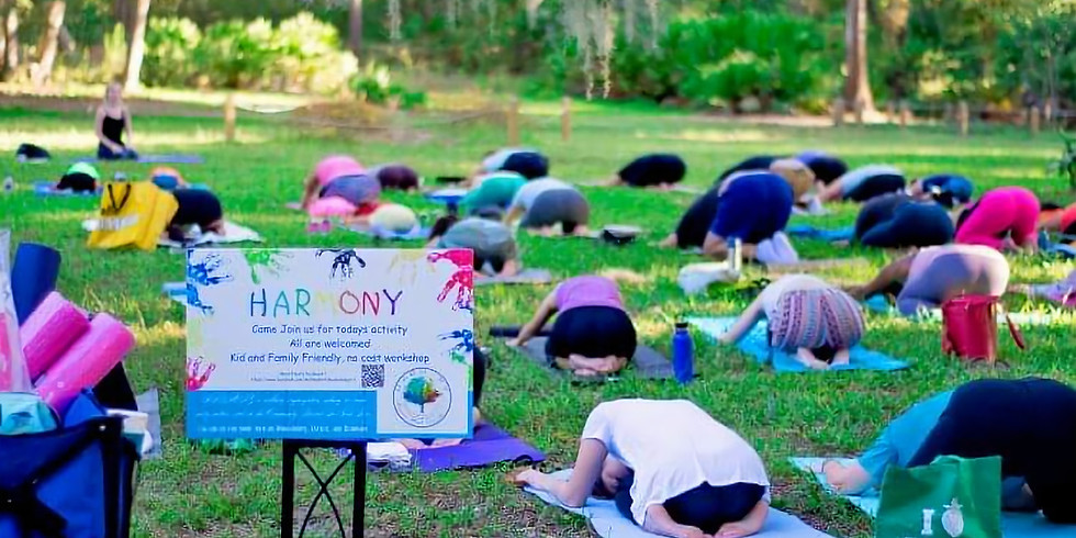 All-Levels Yoga in the Gardens (1)