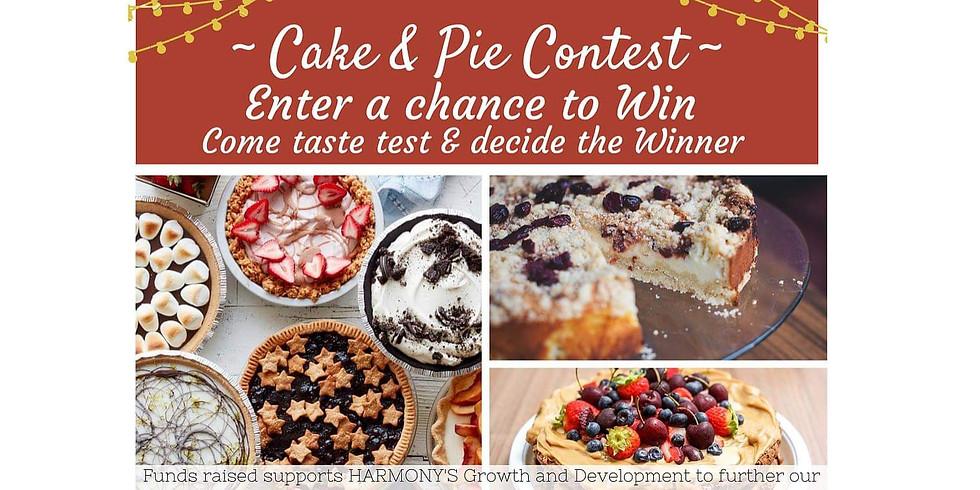 Cake & Pie Contest