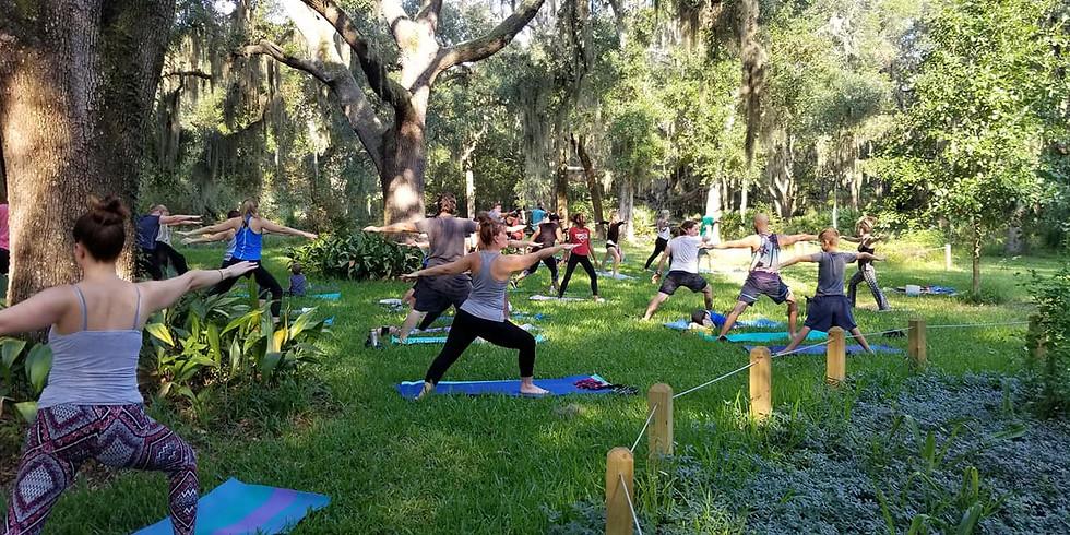 Yoga in the Gardens- Breath Focus