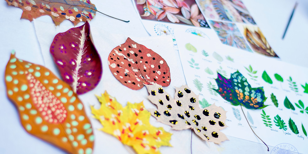 Fall Leave Your Print