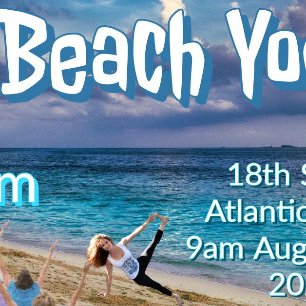 Laughter Beach Yoga