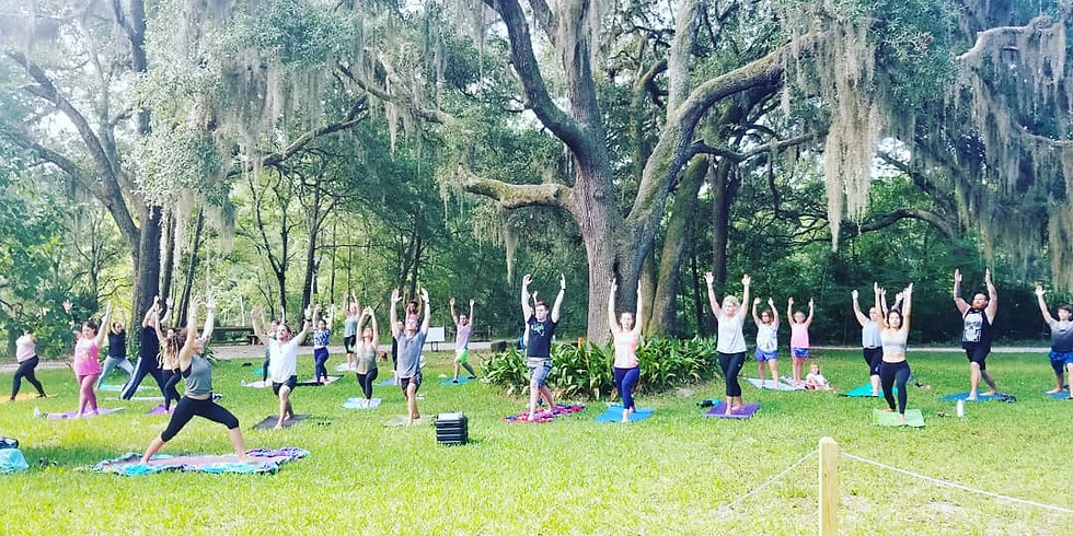YOGA IN THE GARDENS all levels  (1)