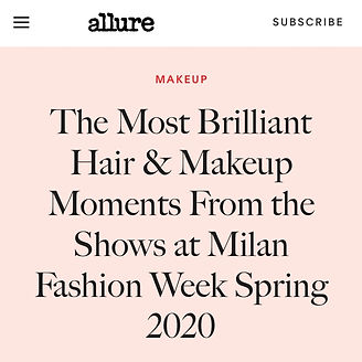 Milan Fashion Week Makeup