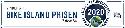 Bike Island Fyn prisen BEDSTE CYKELOVERN