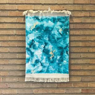 original painted tapestry