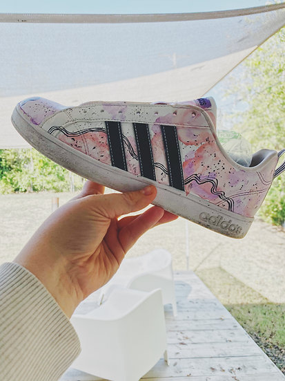 custom painted leather shoes (painting/customization fee only)