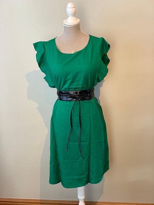 Short Dress Green